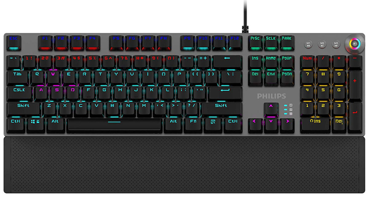 Philips G614 Wired Mechanical Gaming Keyboard