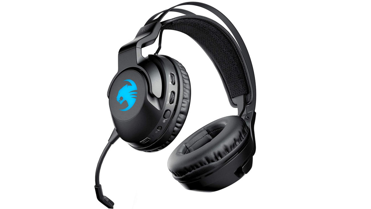 Roccat Elo 7.1 Air Wireless Surround Sound RGB Gaming Headset