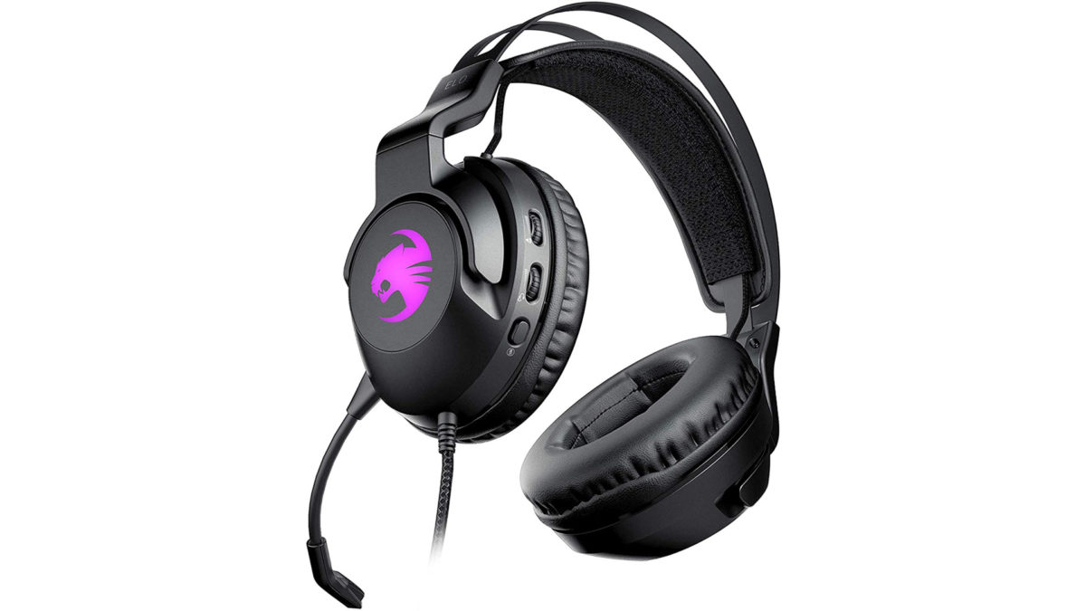 Roccat Elo 7.1 USB Surround Sound RGB Gaming Headset