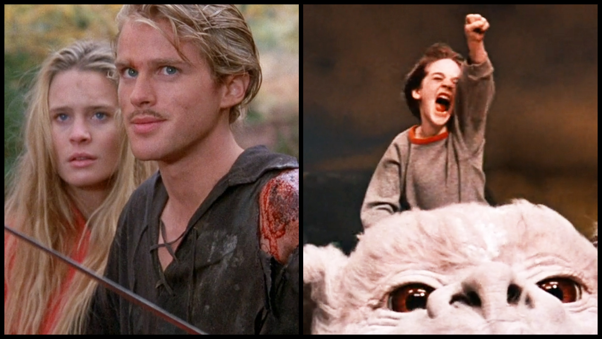 Movie Time! Fantasy Blending: The NeverEnding Story (1984) and The Princess Bride (1987)